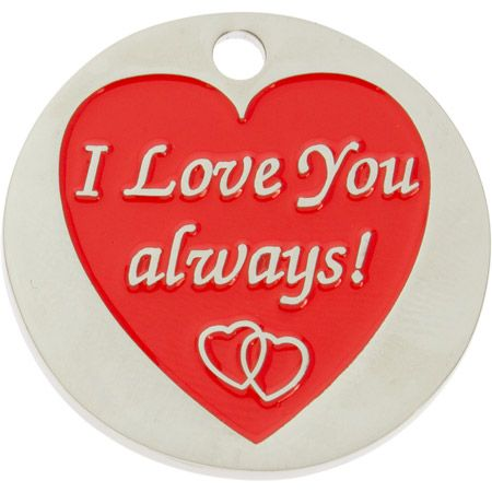I Love You Always Coin - Front