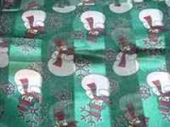 Christmas Snowman Scarf