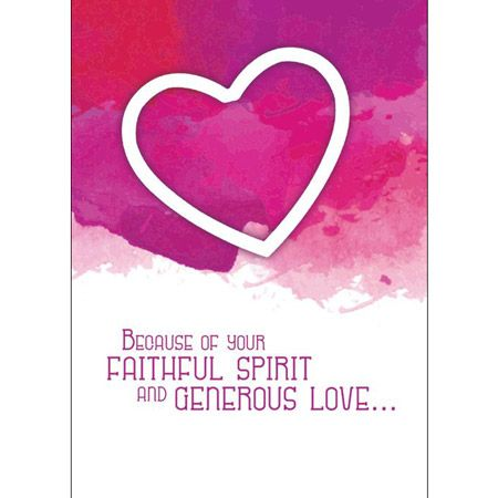 Ministry Appreciation Greeting Card