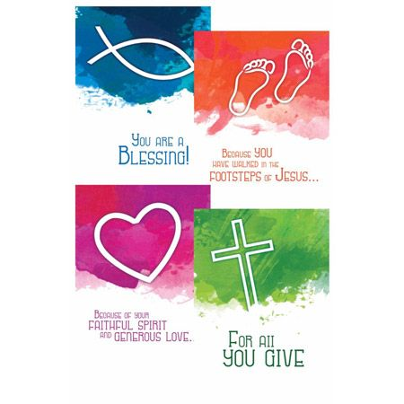 Ministry Appreciation Greeting Cards