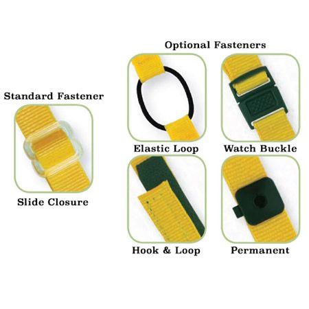 Custom Woven Bracelet Closures