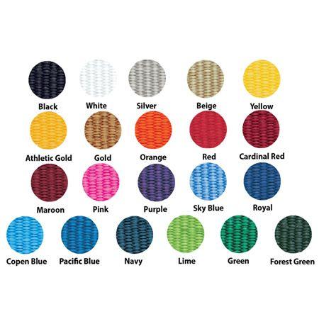 Custom Woven Bracelet Color Palette