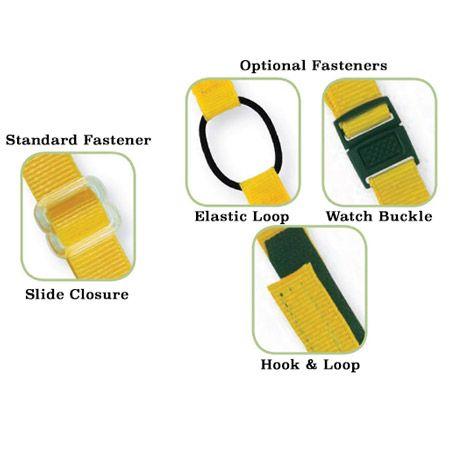 Custom Woven Premium Bracelet Closures