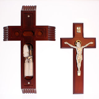 Dark Cherry Crucifix Sick Call Salerni Corpus