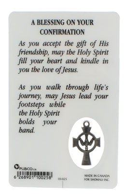 Confirmation Card Gifts of Holy Spirit