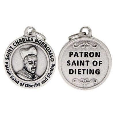 St Charles Borromeo Patron Saint of Dieting Charm