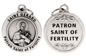 St Gerard Patron Saint of Fertility Charm