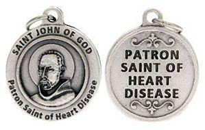 St John of God Patron Saint of Heart Disease Charm
