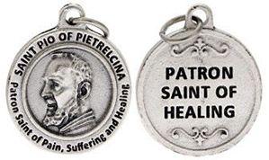 St Pio of Pietrelcina Patron Saint of Healing Charm