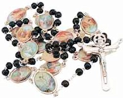 Stations of the Cross Rosary - Brown Wood