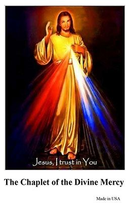Chaplet of the Divine Mercy - Card