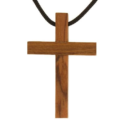 Real Oilve Wood Cross necklaces