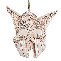 Prayer Memorial Angel Ornament