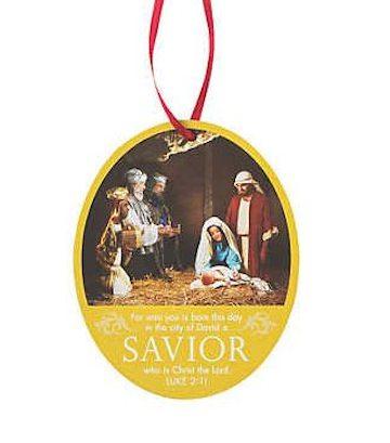 Photo Nativity Christmas Ornaments