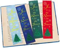 Jesus is the reason ribbon bookmark