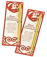 Keep Christ in Christmas Pen and Bookmark