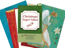 Christmas Card Assortment Packs (Pkg of 51)