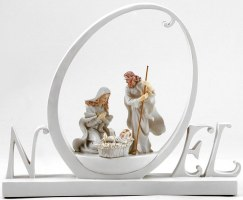 Christmas NOEL Nativity Figurine