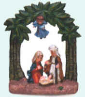 Christmas Manger Ornaments