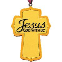 Names of Jesus Christmas Ornaments