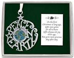 5140 Peace On Earth Ornament