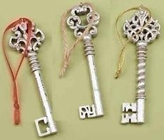 Christmas Keys Set of 3