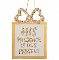 His Presence Christmas Ornaments (12)