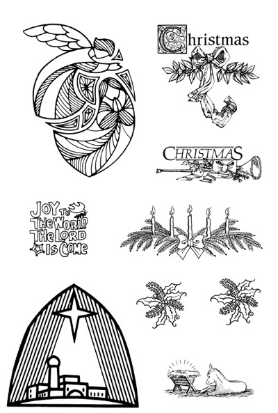 Watch more like Christmas Mass Clip Art Religious