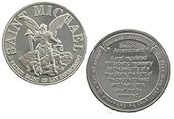 St. Michael Right to Bare Arms Challenge Coin Deluxe