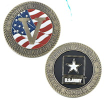 US Army Retired Veteran Challenge Coin