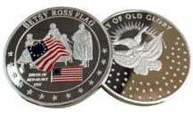 Betsy Ross Founding Fathers Coin Deluxe