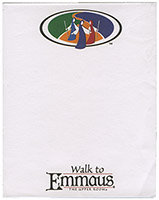 Walk to Emmaus Memo Pads (Pkg of 10)