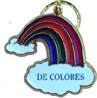De colous Key Chain
