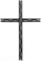 21 Inch Metal Wall Cross