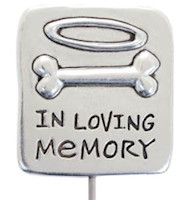 In Loving Memory Pet Dog Memorial Stake