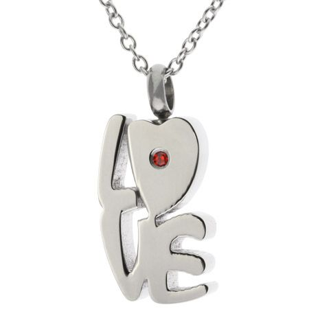 Love Memorial Cremation Urn Necklace