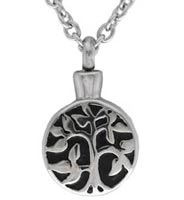 Cremation Tree of Life Urn Necklace