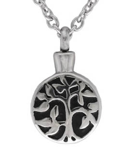 Cremation Urn Tree of Life Necklace