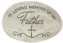 Father Memorial Stone for Garden