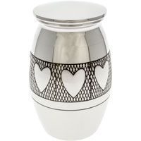 Hearts Cremation Memorial Mini Urn