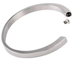 Memorial Urn Bracelet Stainless Steel