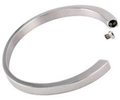 Memorial Urn Bracelet Stainless Steel