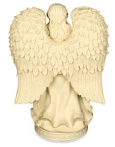 praying angel resin urn