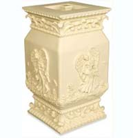 Forever Loved Square Stone Ashes Urn