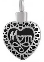 Mom Cremation Urn Necklace