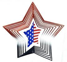 American Star Spinner, Patriotic Home Decor (Pkg of 2)