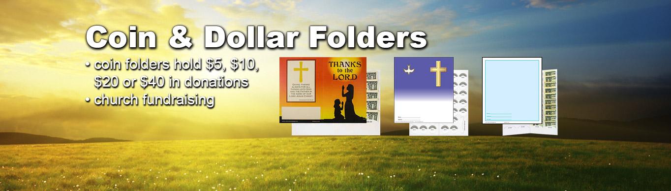 Coin Folders at ChurchSupplier.com
