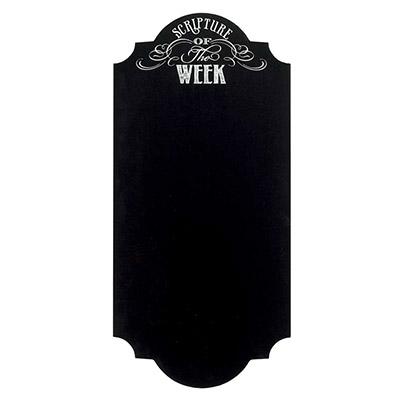 Scripture of the Week Chalkboard