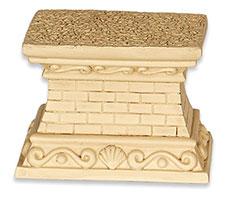Small Brick Garden Pedestal