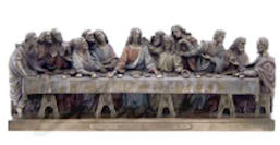 The Last Supper Bronze Statue